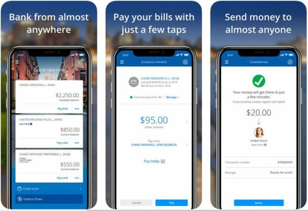 Chase Online Login on iOS